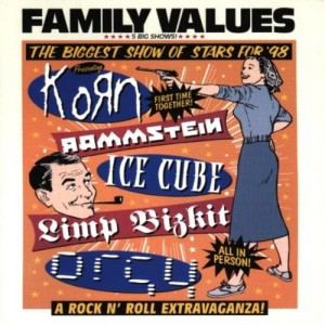 "Afficher ""Family values tour '98"""