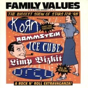 """Afficher """"Family values tour '98"""""""