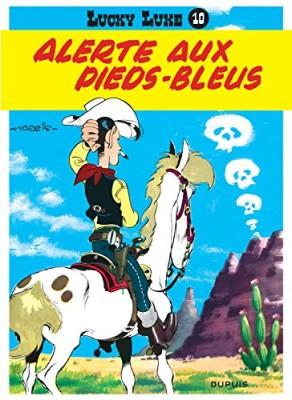 """Afficher """"Lucky Luke n° 10Alerte aux Pieds-Bleus"""""""