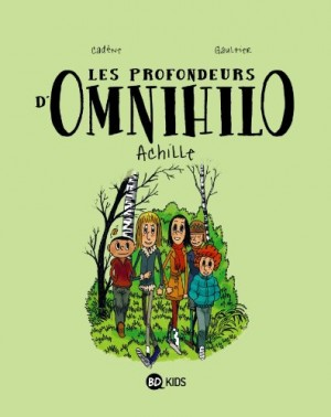 """Afficher """"profondeurs d'Omnihilo (Les) n° 1 Achille"""""""
