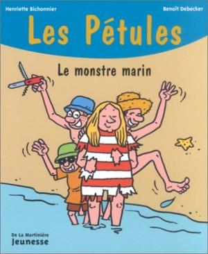 """Afficher """"Pétules (Les) n° 12 Le monstre marin"""""""