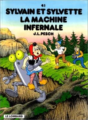 """Afficher """"Sylvain et Sylvette n° 41 La machine infernale"""""""