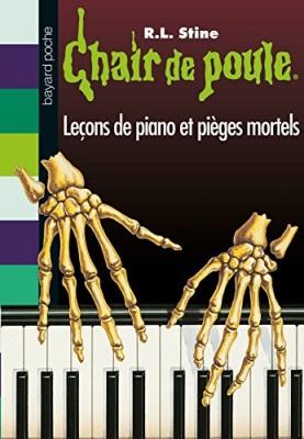 """Afficher """"Chair de poule n° 19 Leçons de piano et pièges mortels"""""""