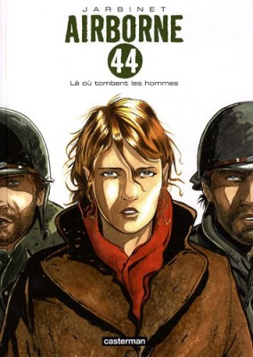 """Afficher """"airborne 44 n° 1 là où tombent les hommes"""""""