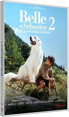 """Afficher """"Belle et Sébastien n° 02 Belle et Sébastien 2 - L'aventure continue"""""""