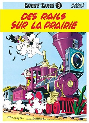 "Afficher ""Lucky Luke n° 9 Des rails sur la prairie"""