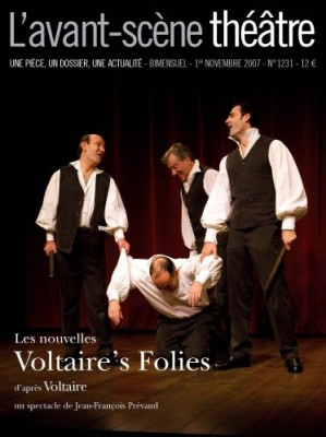 """Afficher """"Avant-scène théâtre n° N°1074 (15 juillet 2000) La trilogie de la villégiature"""""""