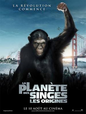 """Afficher """"La Planète des singes (1) : les origines  DVD"""""""