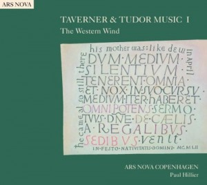 "Afficher ""Taverner and Tudor music, vol. 1"""