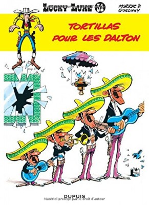 """Afficher """"Lucky luke n° 31 Tortillas pour les Dalton"""""""