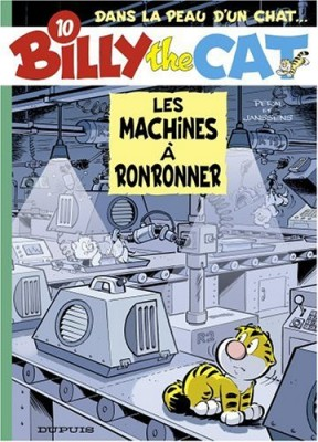 "Afficher ""Billy the cat n° 10 Les machines à ronronner"""