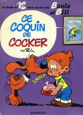 """Afficher """"Album de Boule & Bill n° 12Album de Boule & Bill. n° 12Ce coquin de cocker"""""""