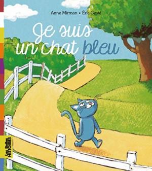 """Afficher """"Je suis un chat bleu"""""""