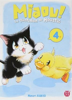 """Afficher """"Miaou ! Le quotidien de Moustic n° 4"""""""