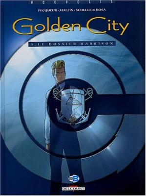 "Afficher ""Golden city n° 5Le dossier Harrison"""