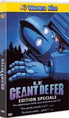 """Afficher """"Le Géant de fer DVD"""""""