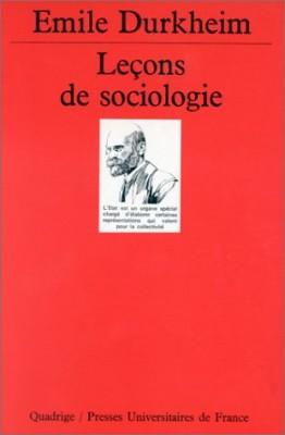 "Afficher ""Leçons de sociologie"""