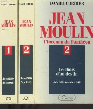 """Afficher """"Jean Moulin, l'inconnu du Panthéon, t. 1"""""""