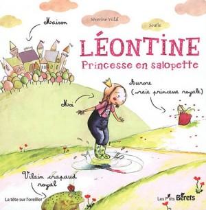 vignette de 'Léontine, princesse en salopette (Séverine Vidal)'