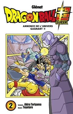 """Afficher """"Dragon Ball Super n° 2 Annonce de l'univers gagnant !!"""""""