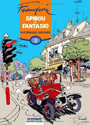 """Afficher """"Spirou et Fantasio intégrale n° 5 Mystérieuses créatures"""""""