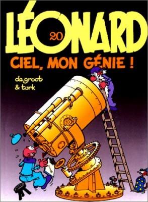 """Afficher """"Léonard n° 20 Ciel mon génie !"""""""