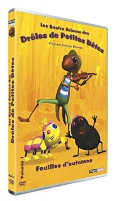 """Afficher """"Drôles de petites bêtes (Les)Les quatre saisons de drôles de petites bêtes : Feuilles d'automne"""""""