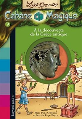 """Afficher """"Les carnets de la cabane magique n° 9À la découverte de la Grèce antique"""""""
