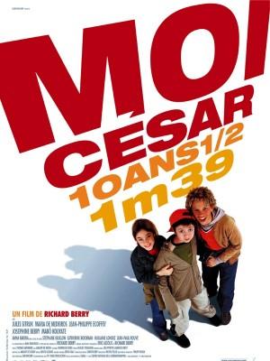 Couverture de Moi César, 10 ans 1/2, 1 m 39