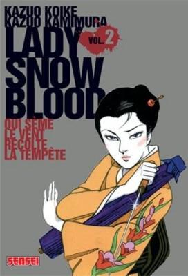 """Afficher """"Lady snow blood n° 2 Qui sème le vent récolte la tempète"""""""