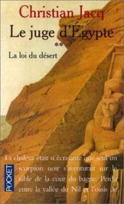 """Afficher """"Le juge d'Egypte n° 2 La loi du désert"""""""