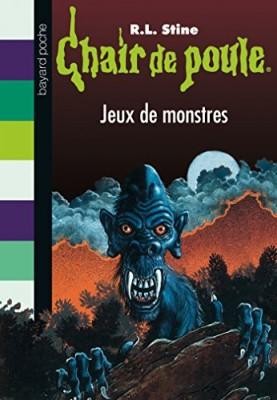 """Afficher """"Chair de poule n° 36 Jeux de monstres"""""""