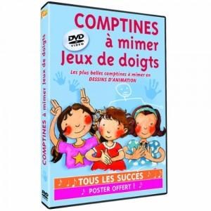 """Afficher """"Comptines à mimer et jeux de doigts"""""""
