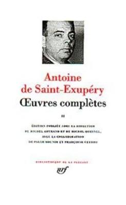 """Afficher """"Oeuvres complètes / Antoine de Saint-Exupéry n° 2 Oeuvres complètes"""""""
