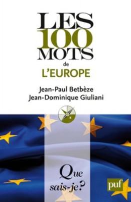 """Afficher """"Les 100 mots de l'Europe"""""""