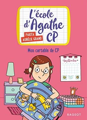 """Afficher """"L'école d'Agathe CP n° 1 Mon cartable de CP"""""""