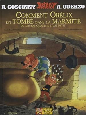 """Afficher """"Une aventure d'Astérix Comment Obélix est tombé dans la marmite du druide quand il était petit"""""""