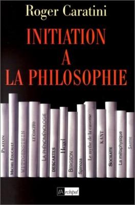 """Afficher """"Initiation à la philosophie"""""""