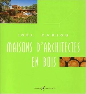 """Afficher """"Maisons d'architectes n° volume VMaisons d'architectes en bois"""""""