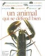 """Afficher """"Qui suis-je ? un animal qui se défend bien"""""""