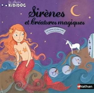 """Afficher """"Les albums Kididoc Sirènes et créatures magiques"""""""