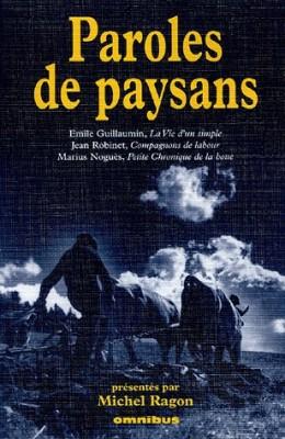 """Afficher """"Paroles de paysans"""""""