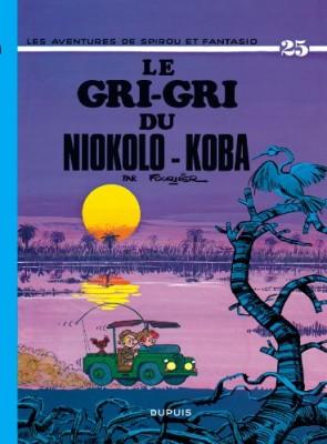 "Afficher ""Les Aventures de Spirou et Fantasio n° 25 Le Gri-Gri du Niokolo-Koba"""