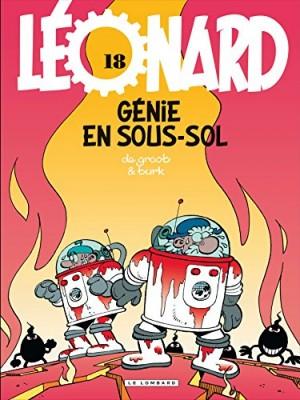 """Afficher """"Léonard n° Tome 18 Génie en sous-sol"""""""