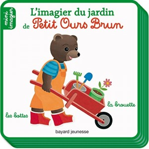 """Afficher """"L'imagier du jardin de Petit Ours Brun"""""""