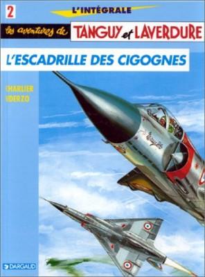 """Afficher """"Les Aventures de Tanguy et Laverdure n° 2 L'escadrille des cigognes"""""""