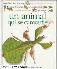"""Afficher """"Qui suis-je ? un animal qui se camoufle"""""""