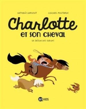 "Afficher ""Charlotte et son cheval."""
