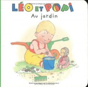 """Afficher """"Léo et Popi n° 4 Au jardin"""""""