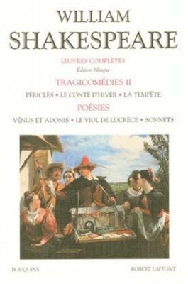 """Afficher """"OEuvres complètes / William ShakespeareTragicomédies"""""""